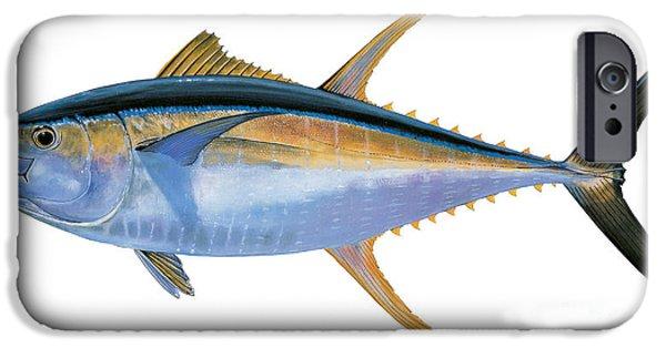 Yellowfin Tuna IPhone 6s Case by Carey Chen