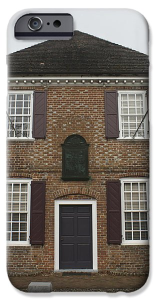 Yorktown Customs House IPhone Case by Teresa Mucha