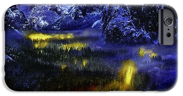 Yosemite Valley At Night IPhone Case by Bob and Nadine Johnston