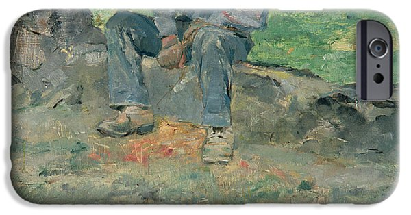 Young Routy At Celeyran IPhone Case by Henri de Toulouse-Lautrec