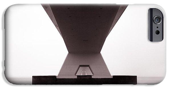 Zeelandbrug 1 IPhone Case by Dave Bowman