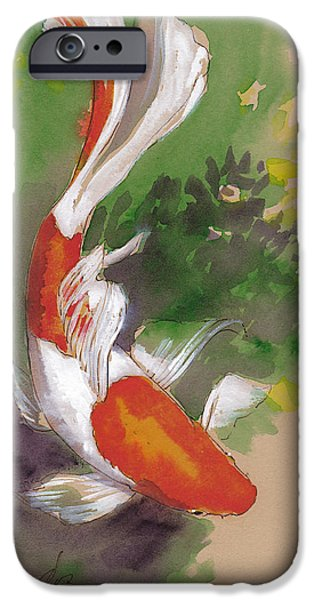 Zen Comet Goldfish IPhone 6s Case by Tracie Thompson