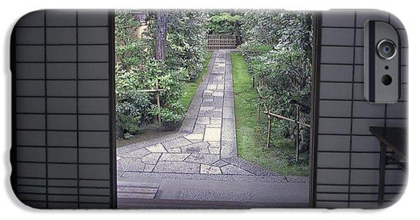 Zen Tea House Dream IPhone Case by Daniel Hagerman
