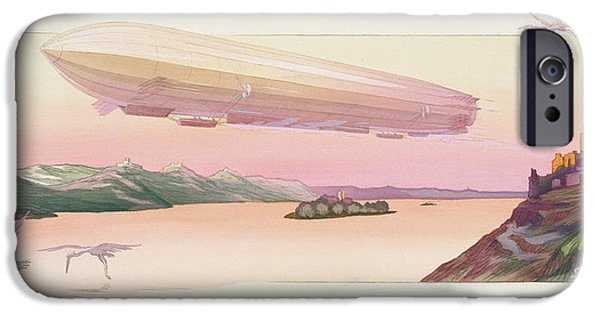 Zeppelin, Published Paris, 1914 IPhone 6s Case by Ernest Montaut