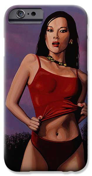 Zhang Ziyi IPhone Case by Paul Meijering