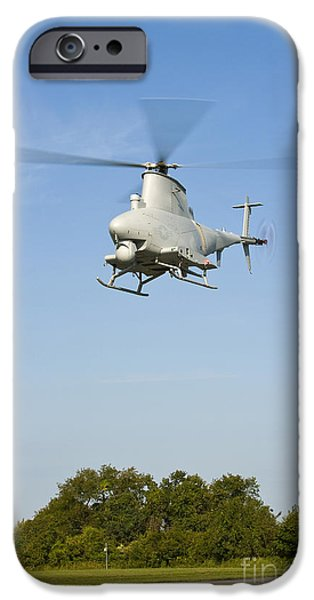 An Mq-8b Fire Scout Unmanned Aerial IPhone Case by Stocktrek Images