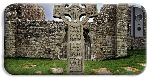 Clonmacnoise, Co. Offaly, Ireland IPhone Case by The Irish Image Collection