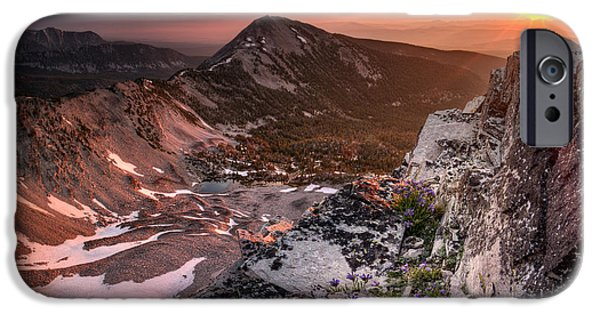 Continental Divide IPhone Case by Leland D Howard