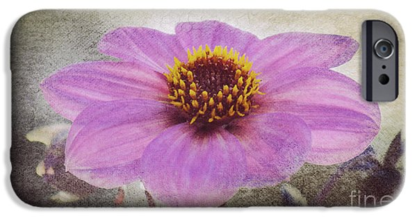 Dahlia Impression IPhone Case by Angela Doelling AD DESIGN Photo and PhotoArt