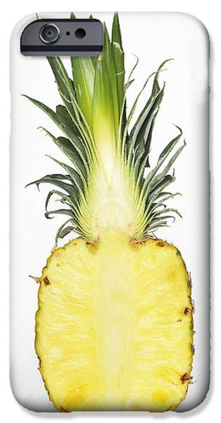 Pineapple Ananas Comosus IPhone Case by Matthias Hauser