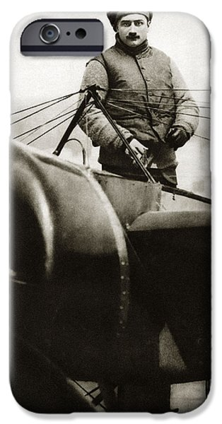 Roland Garros, French Aviator IPhone Case by Sheila Terry
