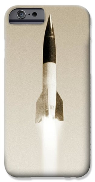 V-2 Rocket IPhone Case by Detlev Van Ravenswaay