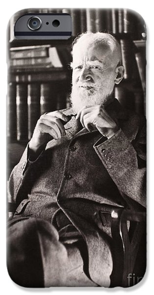 George Bernard Shaw IPhone Case by Granger