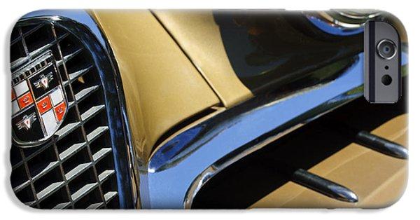 1957 Studebaker Golden Hawk Hardtop Grille Emblem IPhone 6s Case by Jill Reger