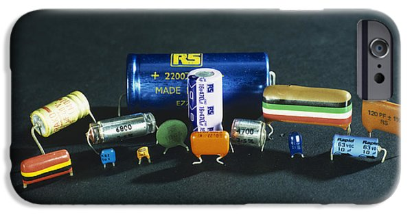 Capacitors IPhone Case by Andrew Lambert Photography