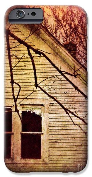 Creepy Abandoned House IPhone Case by Jill Battaglia