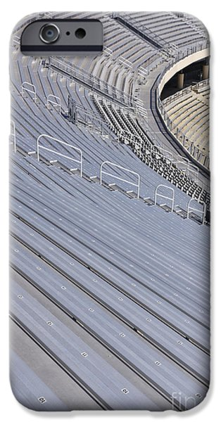 Stadium Bleachers IPhone Case by Jeremy Woodhouse