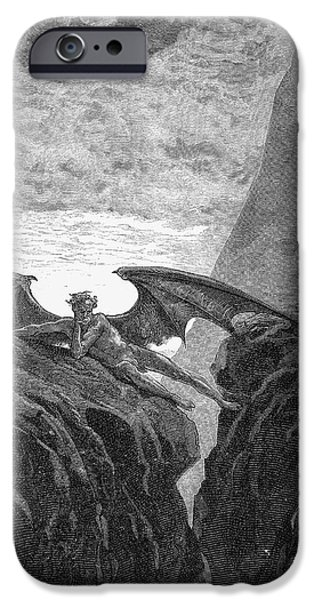 Milton: Paradise Lost IPhone Case by Granger
