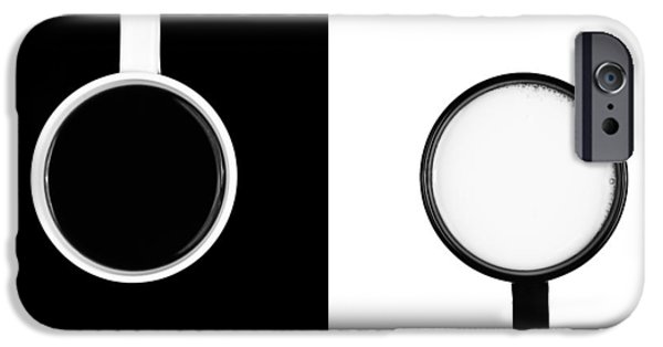 Yin And Yang IPhone Case by Gert Lavsen