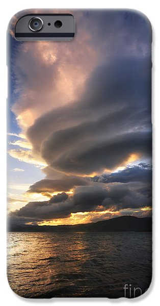 A Massive Stacked Lenticular Cloud IPhone Case by Arild Heitmann