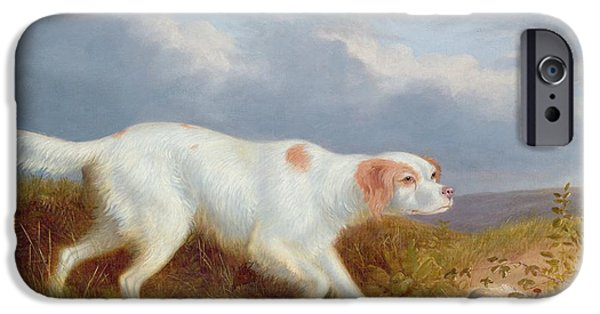 A Setter On The Moor IPhone Case by Philip Reinagle