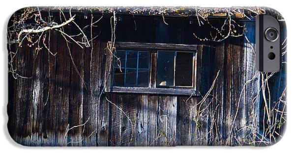 Abandoned Farm House Addition  IPhone Case by Douglas Barnett