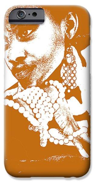 Aisha Brown IPhone Case by Naxart Studio