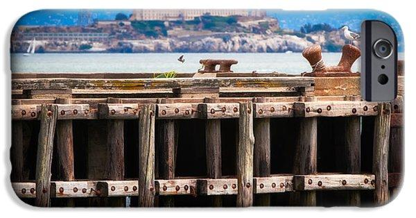 Alcatraz Beyond The Pier IPhone Case by Doug Sturgess