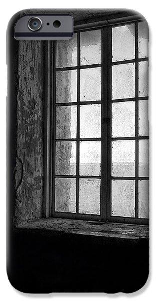 Alcatraz Sally Port Window IPhone Case by Daniel Hagerman
