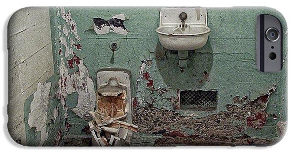 Alcatraz Vandalized Cell IPhone Case by Daniel Hagerman