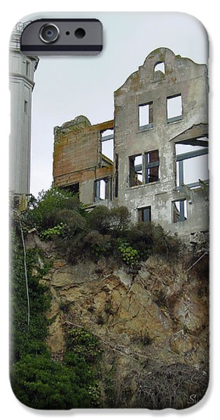 Alcatraz View II IPhone Case by Suzanne Gaff