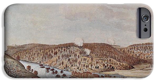 Attack Against Fort Washington 1776 IPhone Case by Photo Researchers