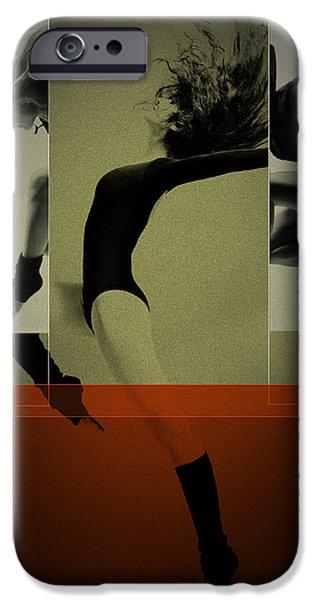Ballet Dancing IPhone Case by Naxart Studio