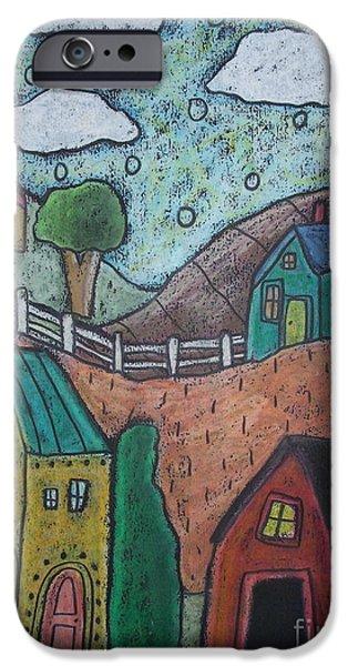 Barn Scene IPhone Case by Karla Gerard