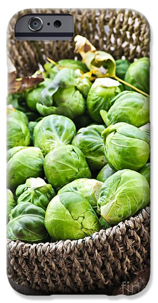 Basket Of Brussels Sprouts IPhone 6s Case by Elena Elisseeva