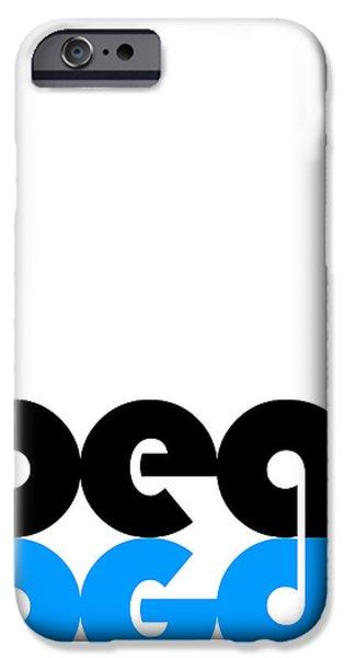 Beat Poster IPhone Case by Naxart Studio