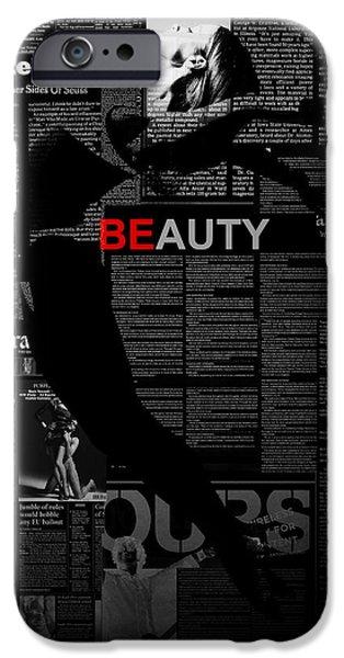 Beauty IPhone Case by Naxart Studio