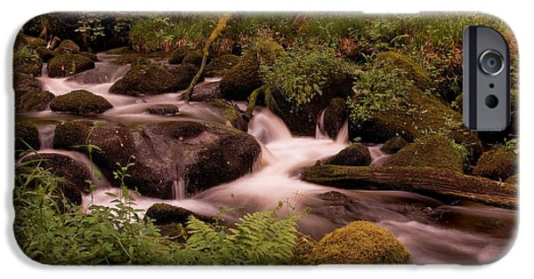 Becky Falls On Dartmoor's National Park IPhone Case by Jay Lethbridge