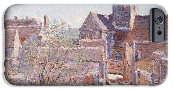 Bennecourt IPhone Case by Claude Monet