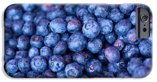 Blueberries IPhone 6s Case by Tanya Harrison