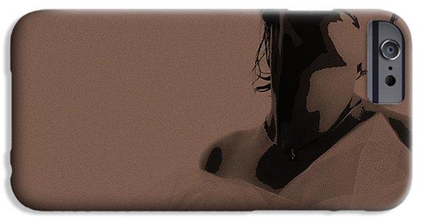 Bride IPhone Case by Naxart Studio