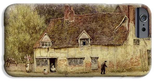 By The Old Cottage IPhone 6s Case by Helen Allingham