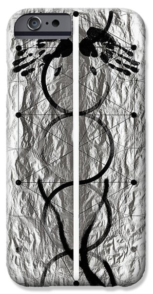 Caduceus IPhone Case by David Kleinsasser