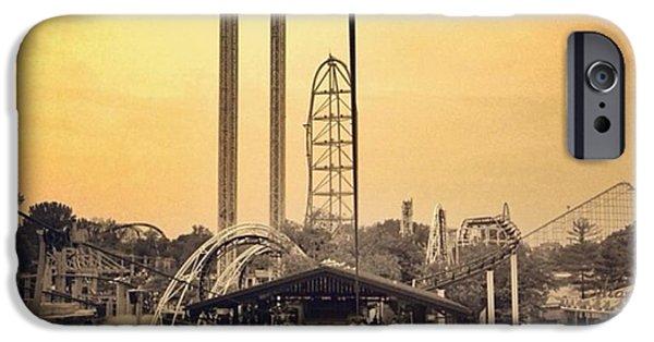 #cedarpoint #ohio #ohiogram #amazing IPhone 6s Case by Pete Michaud