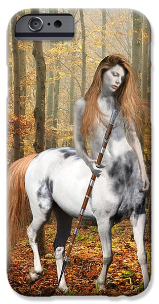 Centaur Series Autumn Walk IPhone 6s Case by Nikki Marie Smith
