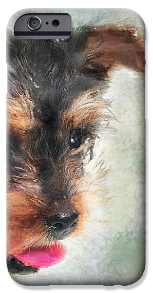 Charming IPhone Case by Betty LaRue