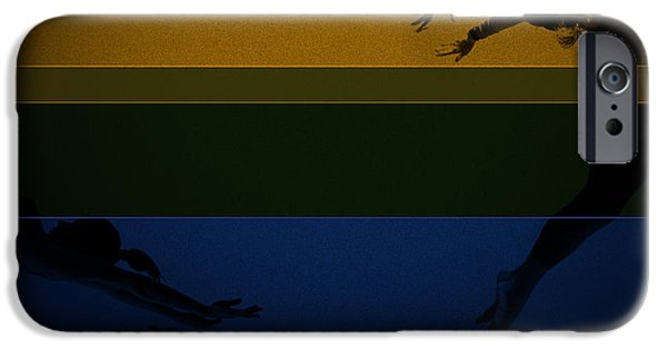 Chase IPhone Case by Naxart Studio