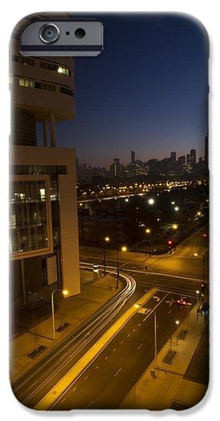 Chicago Skyline View IPhone Case by Sven Brogren