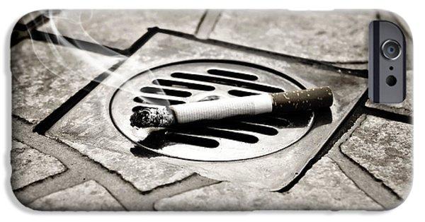Cigarette IPhone Case by Joana Kruse