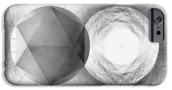 Circle Potential IPhone Case by David Kleinsasser